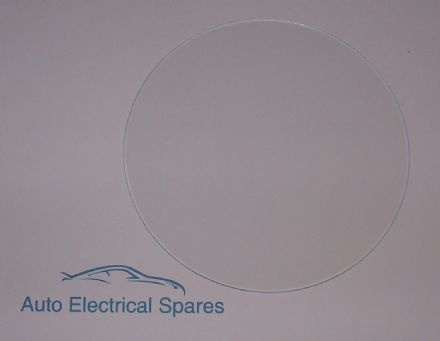 "010165 FLAT glass 125.5mm for 5"" deep bezel"